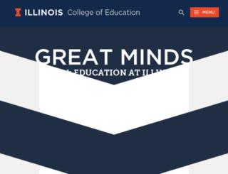 ed.uiuc.edu screenshot