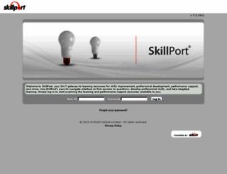 ed2go.skillport.com screenshot