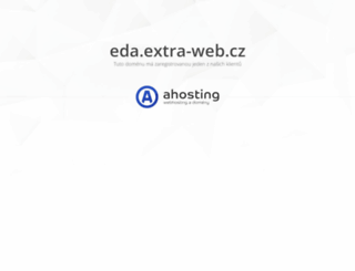eda.extra-web.cz screenshot