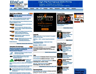 edacafe.com screenshot