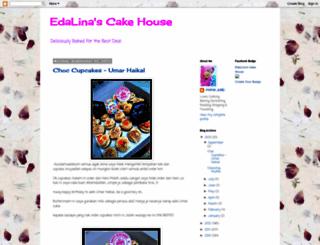 edalinascakehousess.blogspot.com screenshot