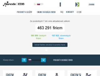 edb.sk screenshot