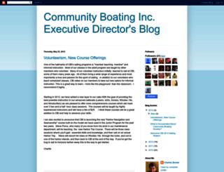 edblog.community-boating.org screenshot