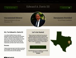 eddavislaw.com screenshot