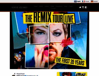 eddieizzard.com screenshot