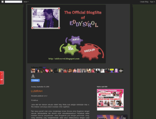 eddysyrol.blogspot.com screenshot
