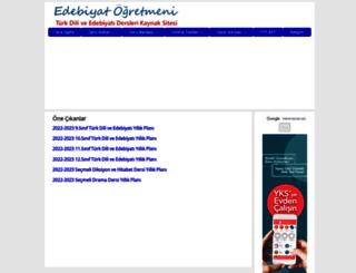 edebiyatogretmeni.org screenshot