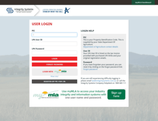 edec.mla.com.au screenshot