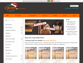 edelholzshop.de screenshot