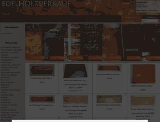 edelholzverkauf.de screenshot