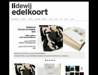 edelkoort.com screenshot