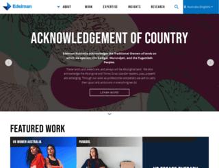 edelman.com.au screenshot