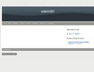 edelmi81.webs.com screenshot