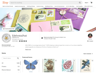 edelweisspost.com screenshot