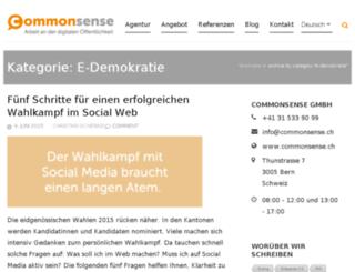 edemokratie.ch screenshot