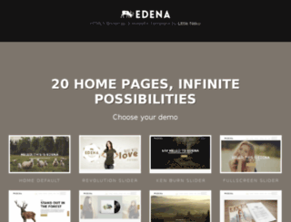 edena-creative-multipurpose-bootstrap-theme.little-neko.com screenshot