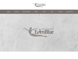 edenblue.it screenshot