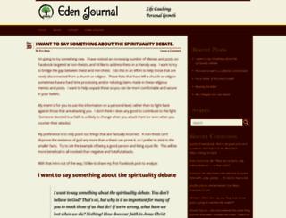 edenjournal.com screenshot
