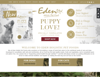 edenpetfoods.com screenshot