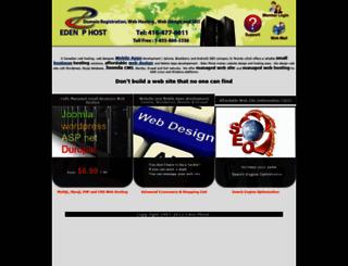 edenphost.com screenshot
