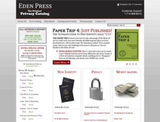 edenpress.com screenshot
