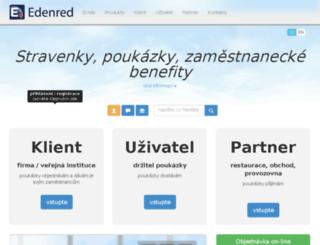 edenred.zen-webdesign.cz screenshot