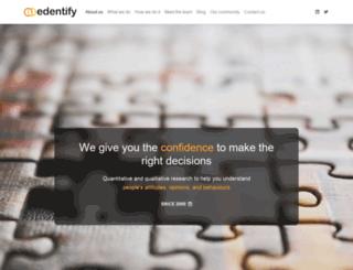 edentify.com.au screenshot