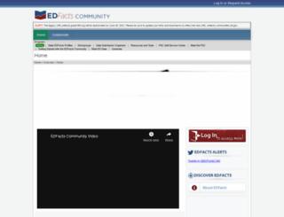 edfacts.grads360.org screenshot