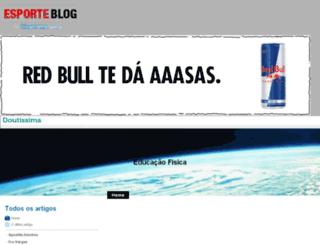 edfisica.esporteblog.com.br screenshot