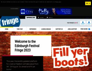 edfringe.com screenshot