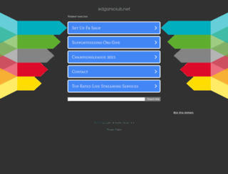 edgarsclub.net screenshot