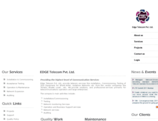 edge-tele.com screenshot