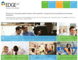 edgeax.com screenshot