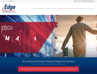 edgeinformation.com screenshot