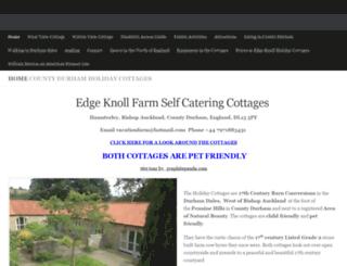 edgeknollfarm.co.uk screenshot