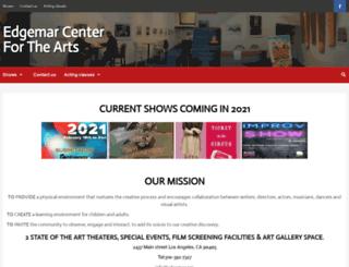 edgemarcenter.org screenshot