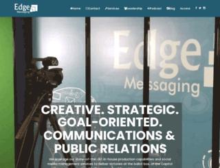 edgemessaging.com screenshot