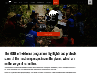 edgeofexistence.org screenshot