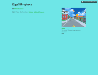 edgeofprophecy.itch.io screenshot