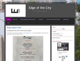 edgeofthecityblog.blogspot.com screenshot