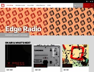 edgeradio.org.au screenshot