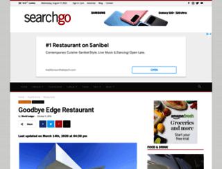 edgerestaurant.co.uk screenshot