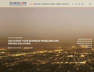 edgescopeconsulting.com screenshot