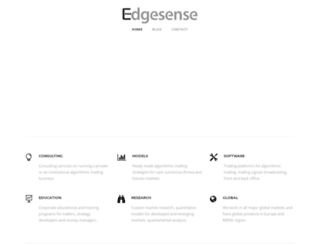 edgesense.net screenshot