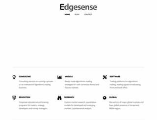 edgesense.net screenshot