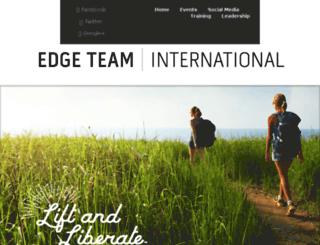edgeteambuilder.com screenshot