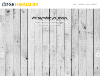 edgetranslation.ca screenshot