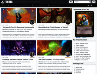 edhrec.com screenshot