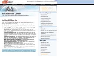 edi.nextgen.com screenshot