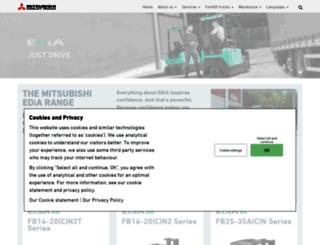 edia-mitsubishi.com screenshot